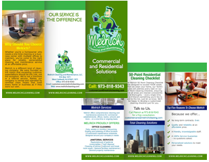cleaning company brochure designing services before you begin
