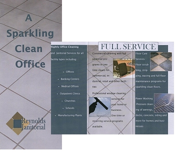 Free cleaning brochures flyers gift cards and door hangers for Commercial cleaning brochure templates