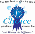 image of company logo designing for 1st choice janitorial cleaning company