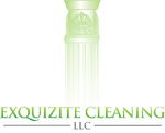 green graphic image of company logo designing service for Exquizite Company