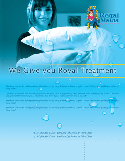Examples Flyers Residential Cleaning http://cleanoutlook.com/freebies/brochure.html