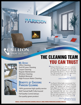 Examples Flyers Residential Cleaning http://www.cleanoutlook.com/flyers/index.html