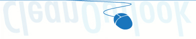 graphic image blue mouse on our logo designing company page