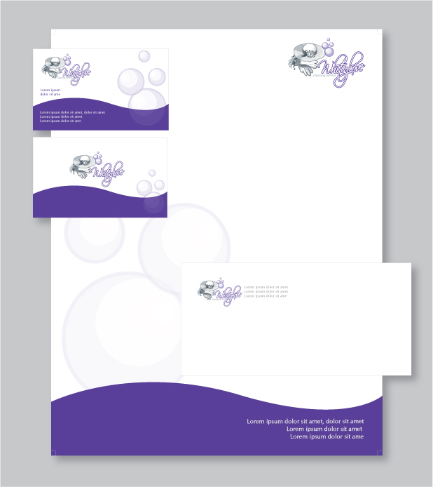 Business letterhead design custom letterhead stationery reheart Image collections