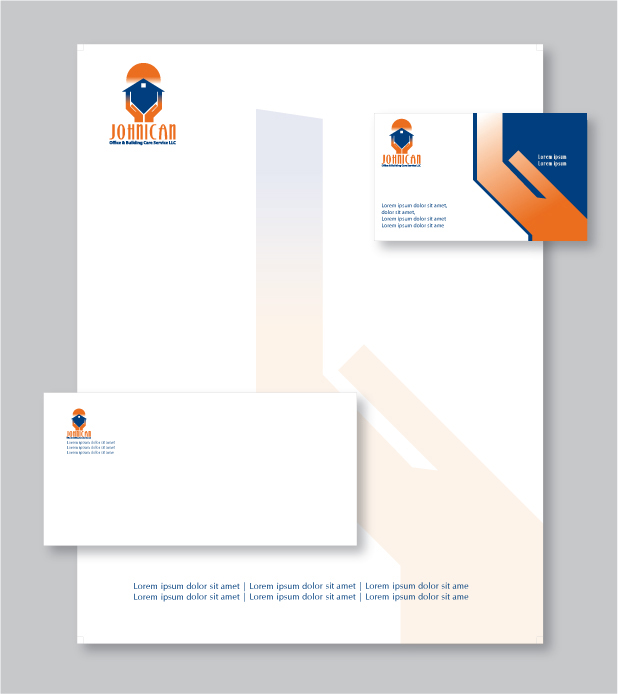 Business letterhead design custom letterhead stationery reheart Gallery