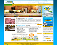 thumbnail image of A Clean Helathy House Website Design
