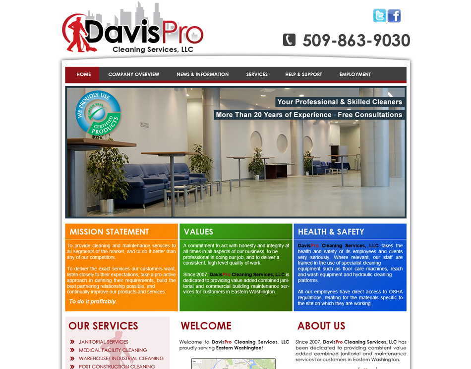 thumbnail image of mobile friendly web site design DavisPro