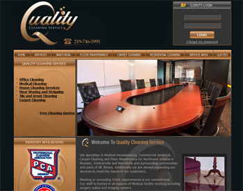 New Cleaning Company Websites Logo And Website