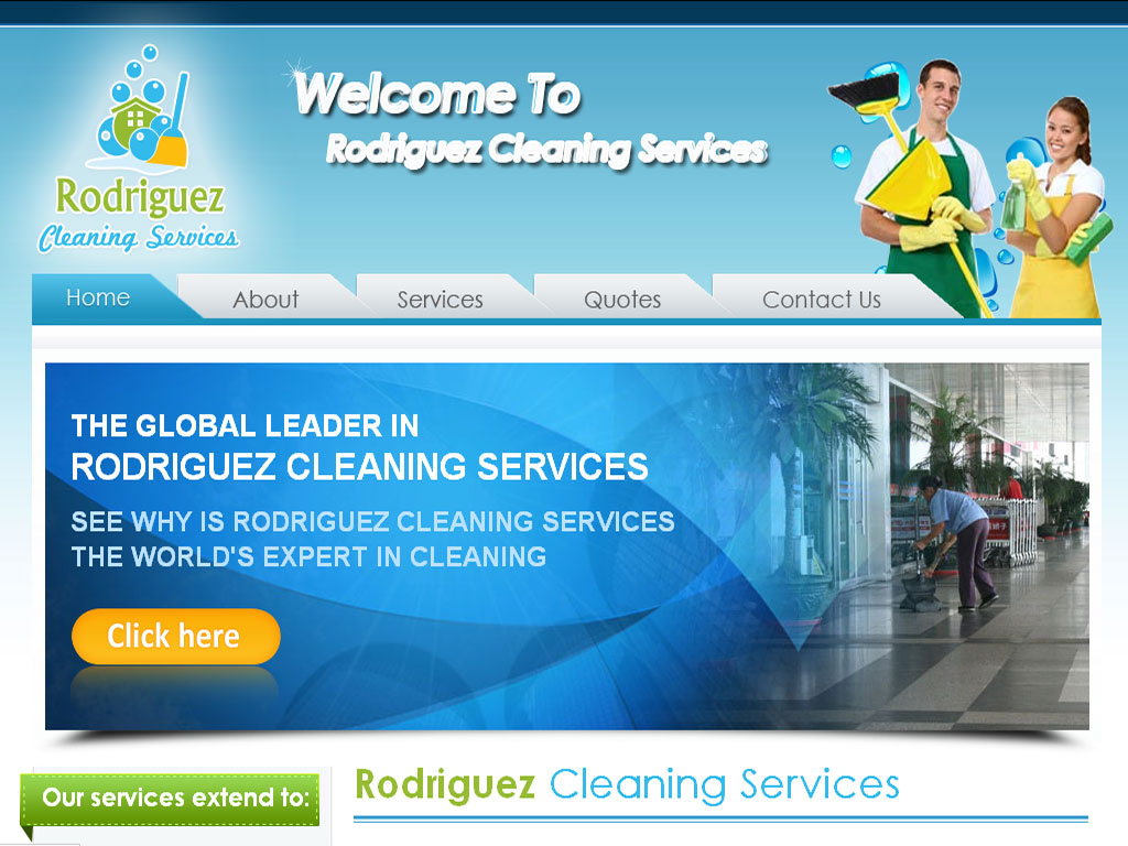 cleaning company website designing portfolio janitorial services louisville