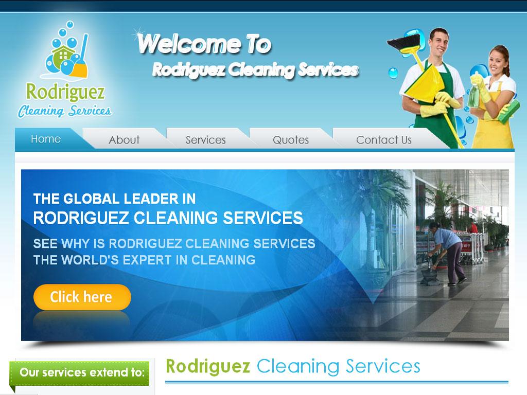 Cleaning Company Website Designing Portfolio